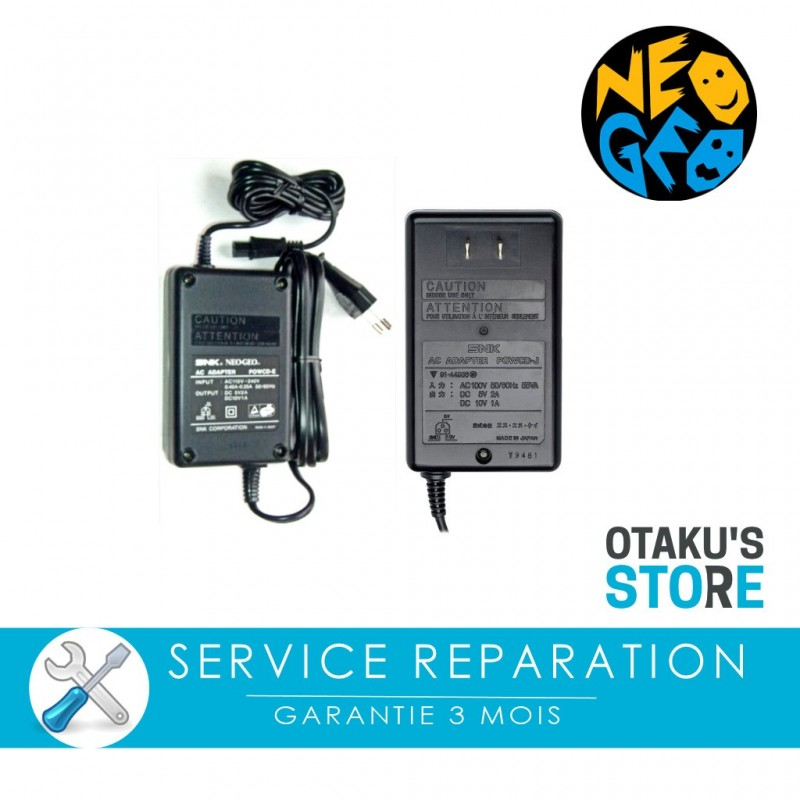 Repair service for Neo Geo AES and CD official power supply - SNK ...