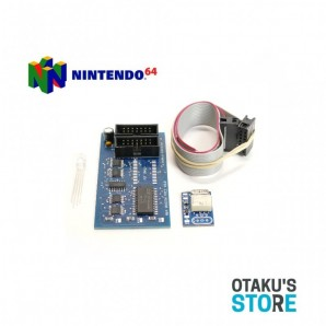 Kit Modding Region Free pour Nintendo 64 V2.0 avec dual frequency oscillator- N64 modification - Otaku's Store dézonage