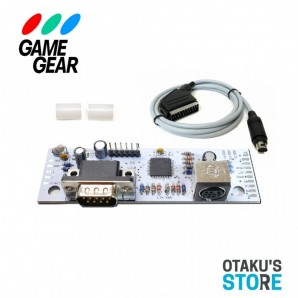 Game Gear TV out + megadrive controller port modding kit - Mod