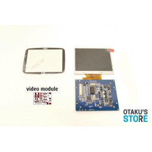 LCD Mod 3.5 kit for PC Engine GT - Turbo Express