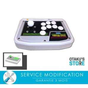 Full Sanwa service mod for Saturn Virtua stick or Dreamcast arcade stick - Modding Workshop