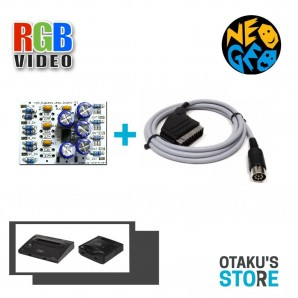 Kit Modding video by-pass pour Neo Geo AES et CD - bypass THS7314