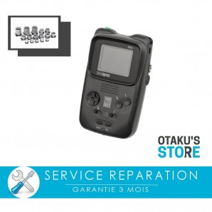 Repair and recap service for PC Engine GT / Turbo Express console - replacement caps - SMD cap kit installation