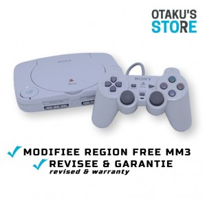 Region Free PSone console with MM3 chip - pre-modded playstation ps1