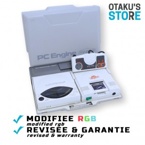 Interface Unit set RGB Modded PC Engine + CDrom² player - Pre-modded