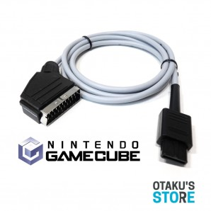 High quality RGB scart video cable for PAL Gamecube - Nintendo Game Cube - Csync gold shielded