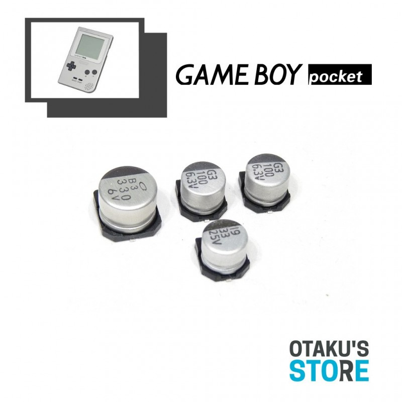SMD cap kit for Nintendo Game Boy Pocket - Replacement capacitors