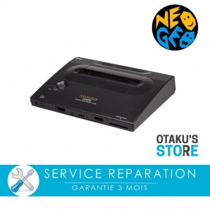 Repair service for Neo Geo AES console - SNK repair workshop