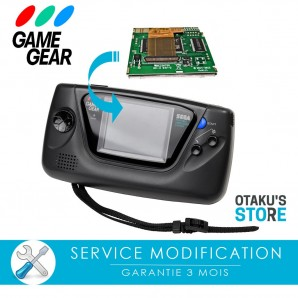 Mc Will lcd mod installation service for Sega Game Gear - Modding workshop