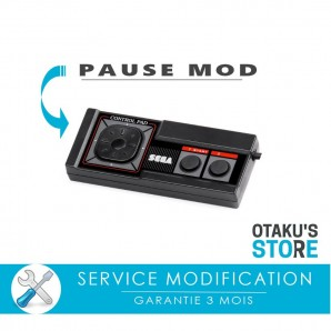 Extra pause button mod for Master System controller - Modding  service