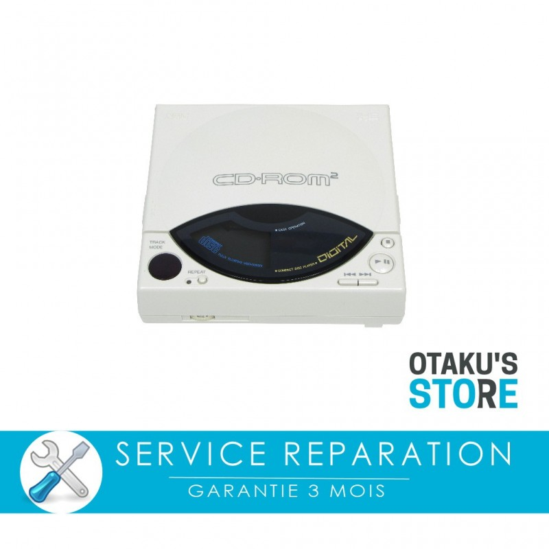 Repair service for Nec Cd-rom² console - PC Engine Cd-rom 2 - workshop