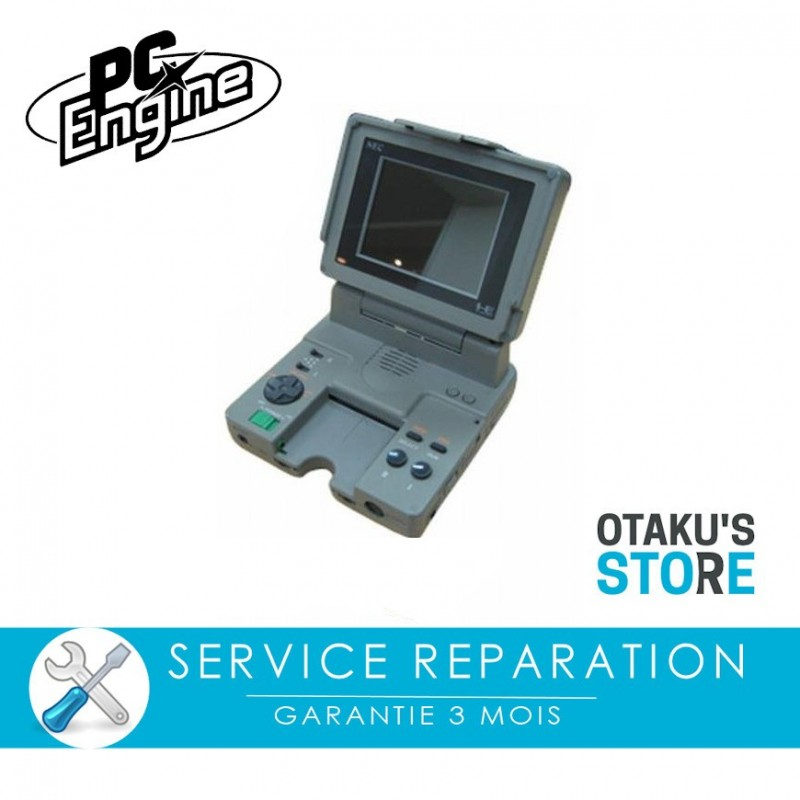 Repair service for Nec PC Engine LT console - workshop